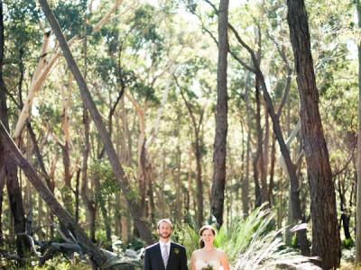 Le Mariage de Karin & Travis sur La Mariée Aux Pieds Nus