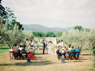 Wedding in Provence, Lourmarin
