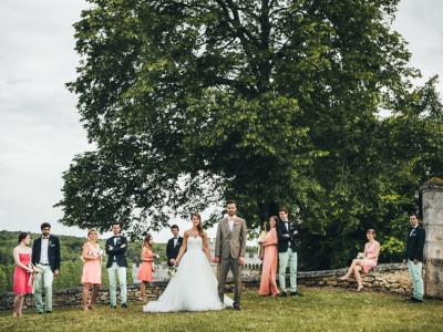 Mariage Chateau de la Tranchade- Iris & Edouard - 28 Juin 2014