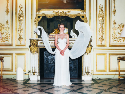 Bridal Fashion shooting - Hotel Le Meurice Paris
