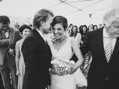 Bjornar & Catharina - Campground wedding in the south of France