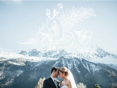 Winter wedding in Chamonix - French Alps