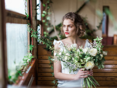 Bridal Fashion - Shooting SS2015 Carnets de Mariage