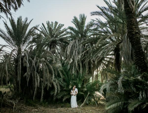 Portrait couple mariage au Maroc, Taroudant