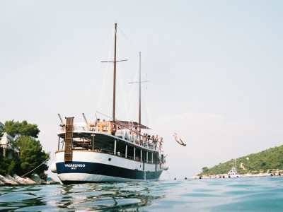 The pre-wedding Boat Trip - Hvar, Croatia