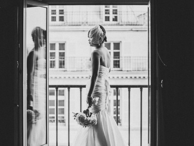 Perfect elopement wedding in Paris, Hotel Westin Vendome