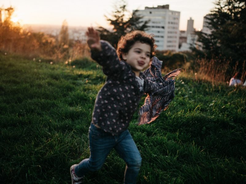 Kids Photography - A sunday in Paris