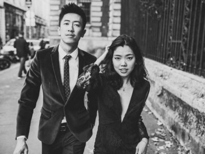 Couple session in Paris - from Singapore to Paris