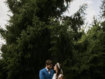 Mariage bohème et végétal près de Paris