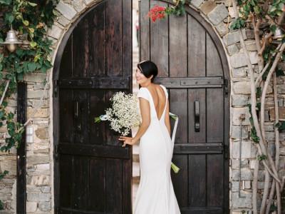 Mariage à Paros en Grèce