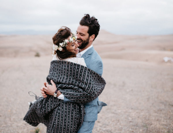Wedding Mariage Couple Desert d'agafay Maroc