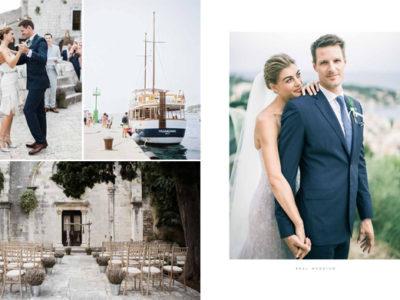 Alex & Nick Wedding in Hvar - Smitten Magazine