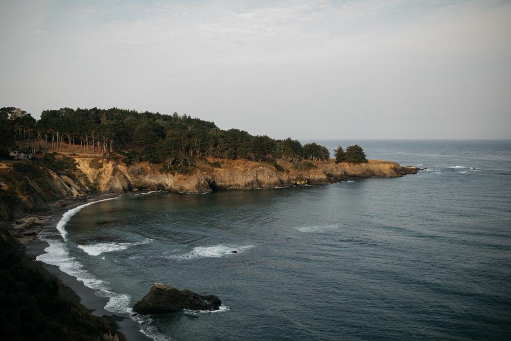 coastline of California