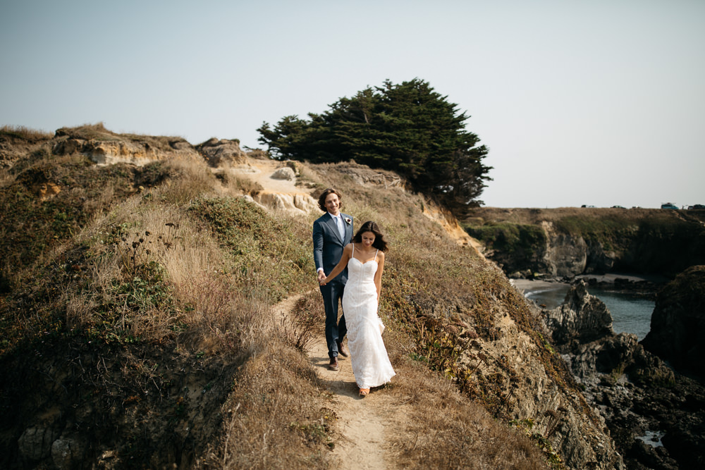 Couple session before their wedding in california
