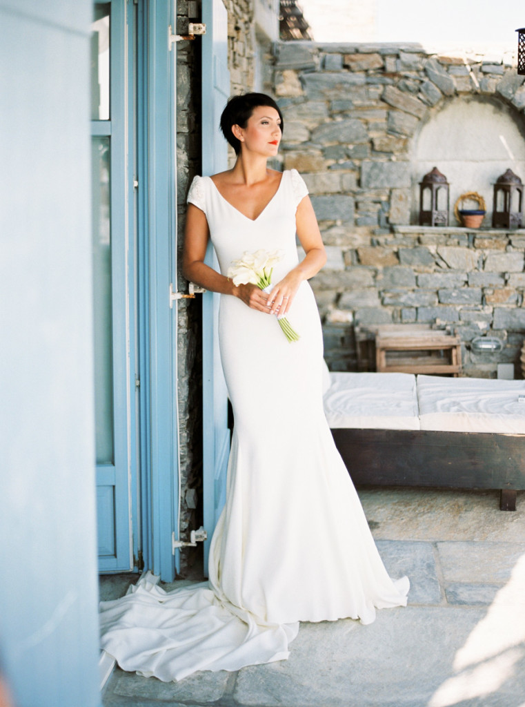 Wedding in Paros - Greece - Charlene and Gabriel | Lifestories